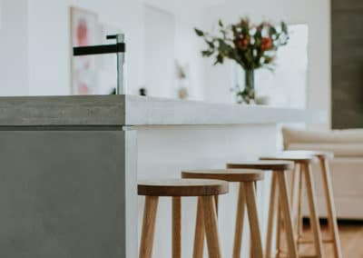 Chifley house kitchen barstools