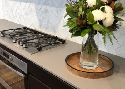 Torrens residence - kitchen cooktop
