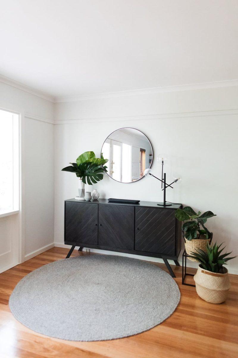 Interior design by Studio Black Interiors, O'Conner house, Canberra, Australia.