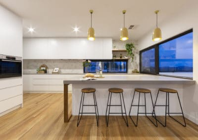 Kitchen interior design and styling by Studio Black Interiors, Denman Prospect Canberra, Australia
