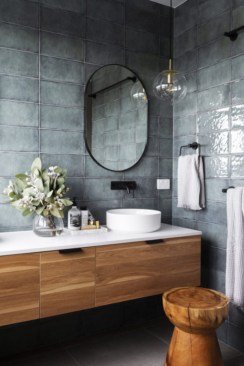 Interior design and styling by Studio Black Interiors, Denman Prospect Residence, Canberra, Australia.