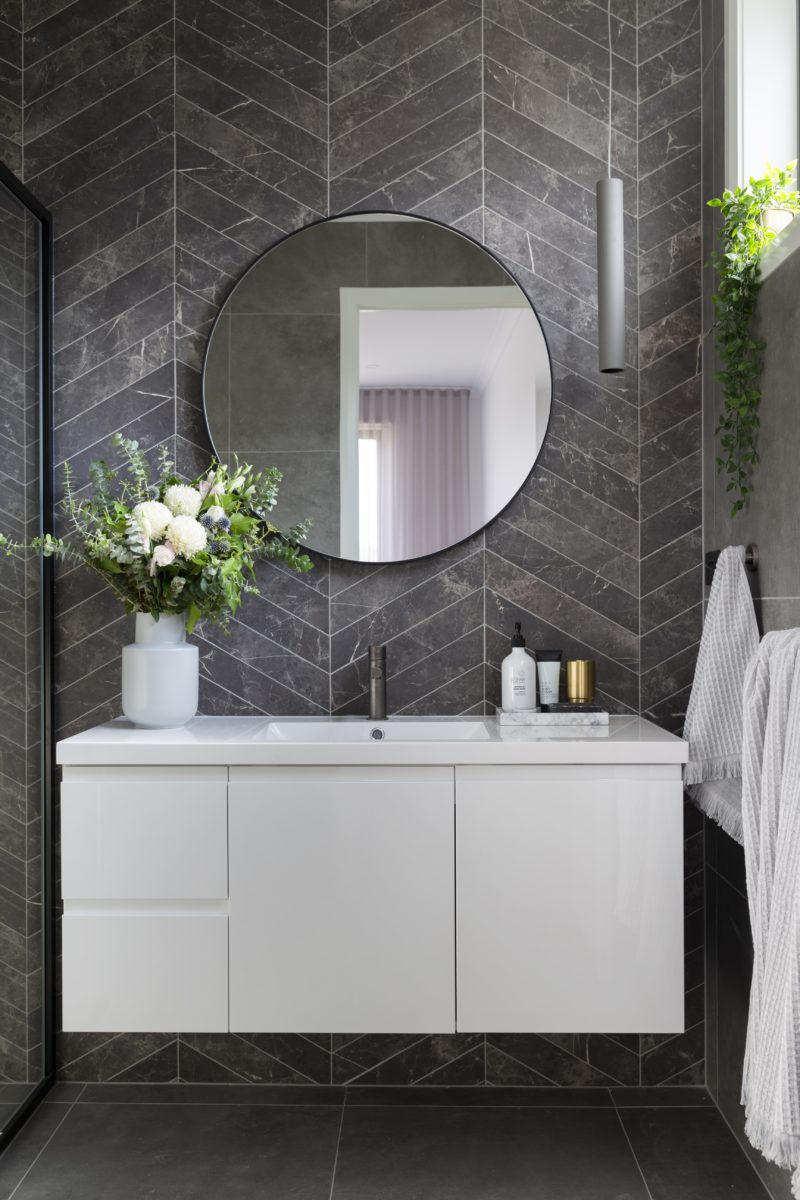 Ensuite interior design and styling by Studio Black Interiors