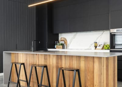 Kitchen interior design and styling by Studio Black Interiors