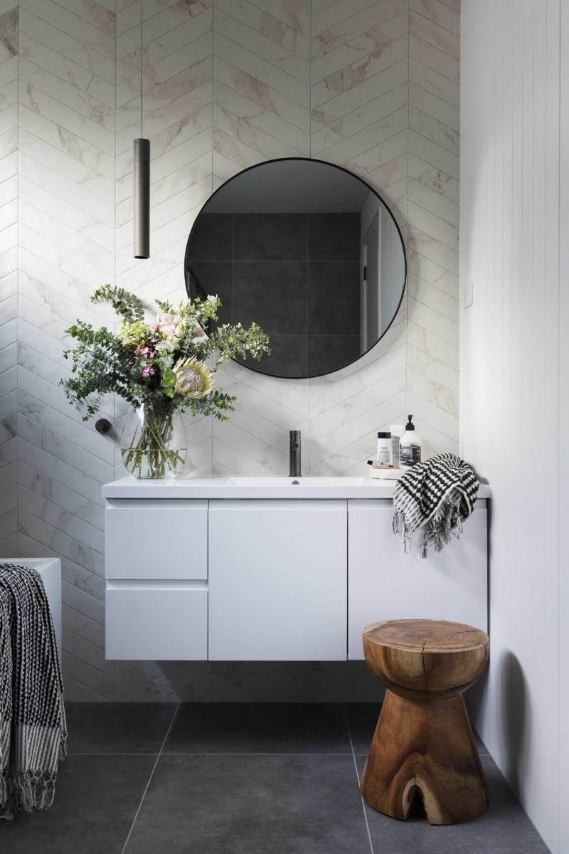 Bathroom interior design and styling by Studio Black Interiors