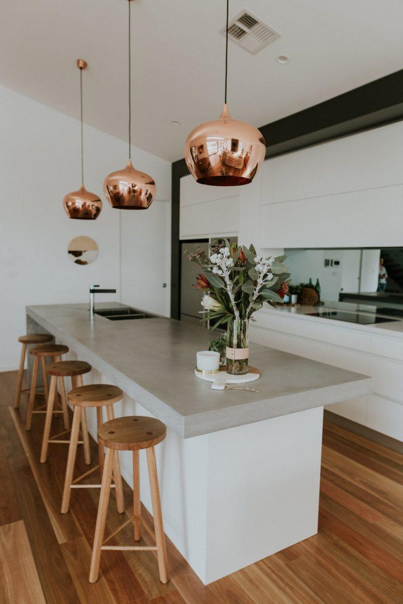Interior design by Studio Black Interiors, Chifley house, Canberra, Australia.