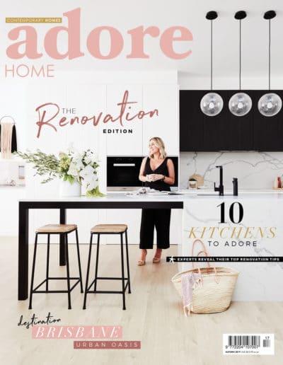 Studio Black Interiors features in Adore Magazine Autumn 2019