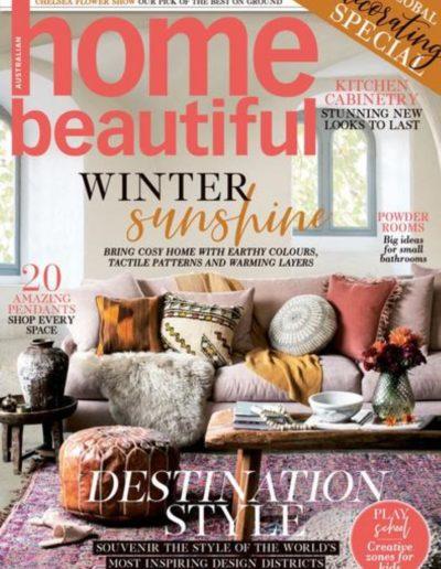 Studio Black Interiors featured in Home Beautiful Magazine