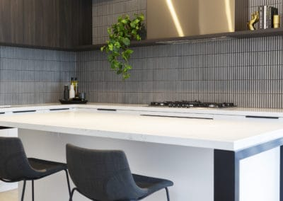 Kitchen design and styling by Studio Black Interiors, Redhill Development Canberra, Australia.