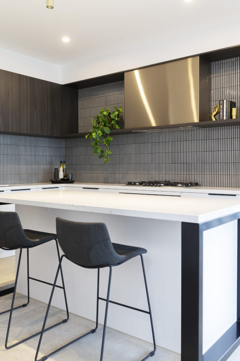 Interior design by Studio Black Interiors, Forde Residence, Canberra, Australia.