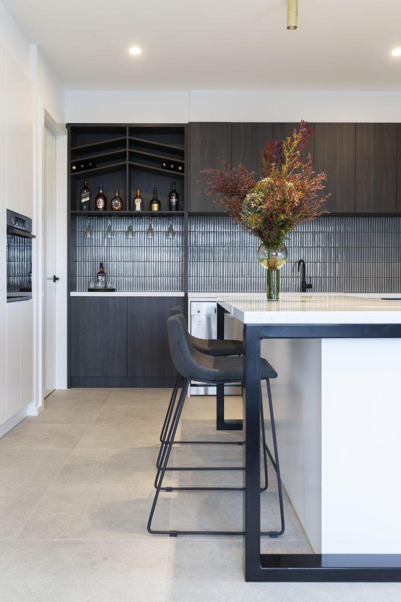 Kitchen interior design and styling by Studio Black Interiors, Redhill Development, Canberra, Australia.
