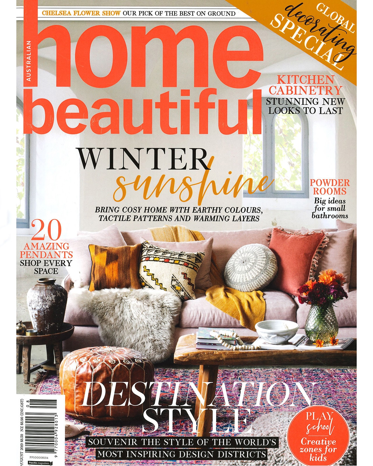 Studio Black Interiors featured in Home Beautiful Magazine Winter.