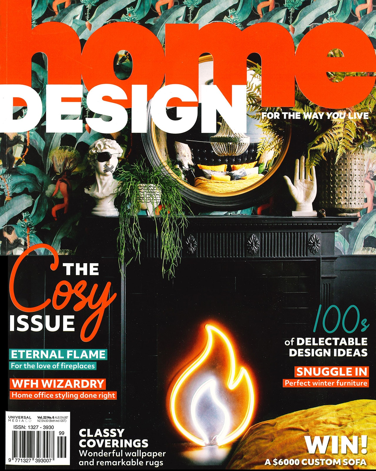 Studio Black Interiors featured in Home Design Magazine.