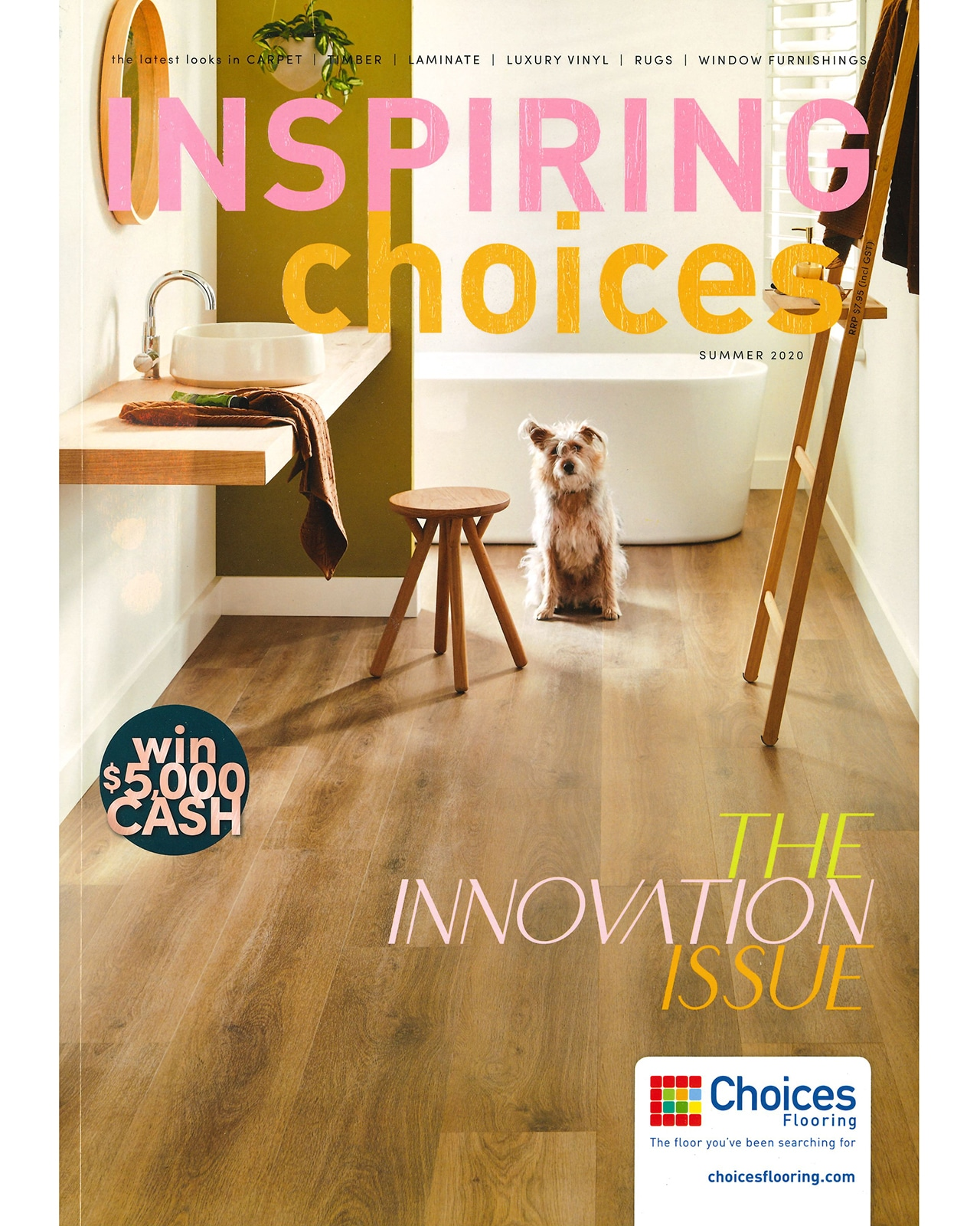 Studio Black Interiors featured in Inspiring Choices Magazine.