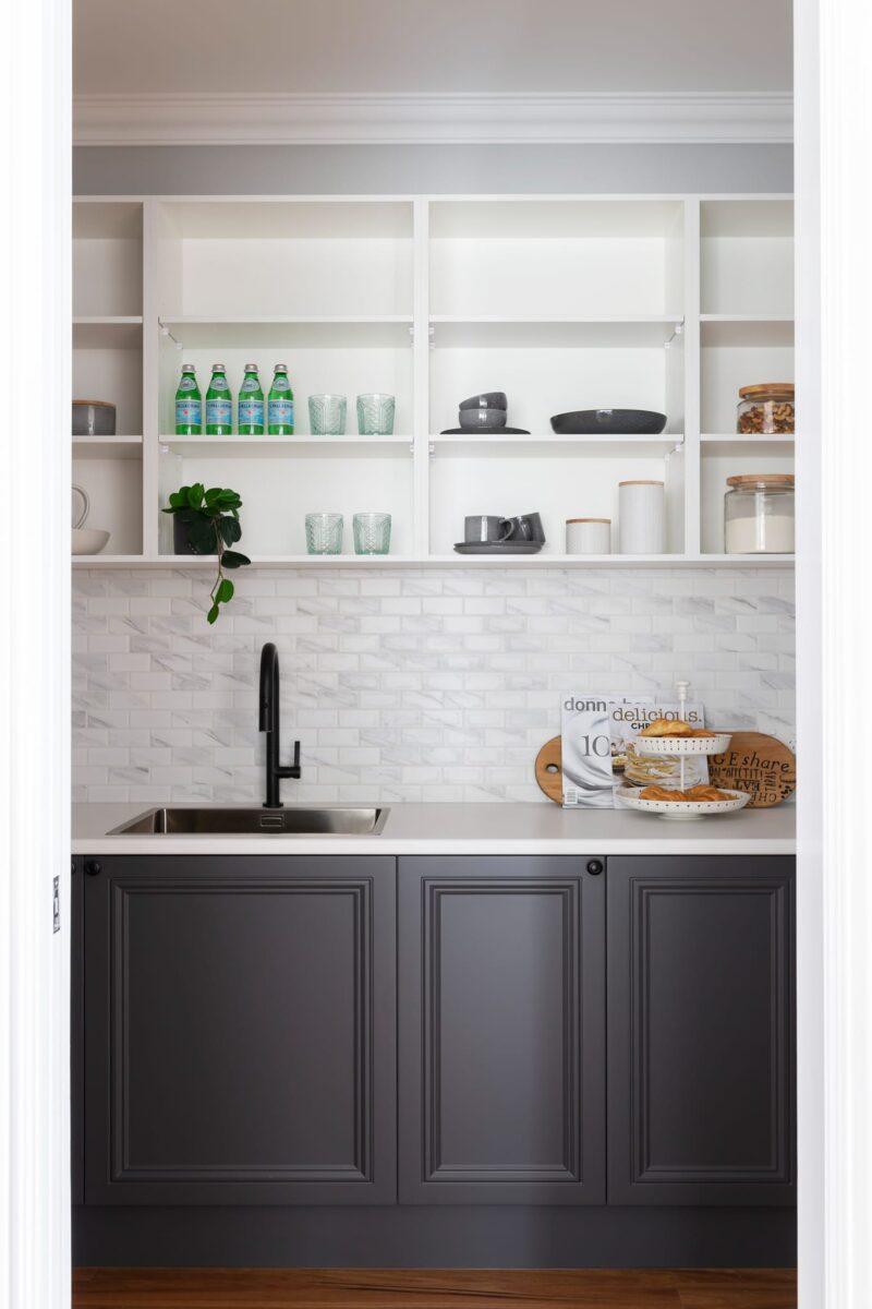 Interior design by Studio Black Interiors, Kaleen Residence, Canberra, Australia.