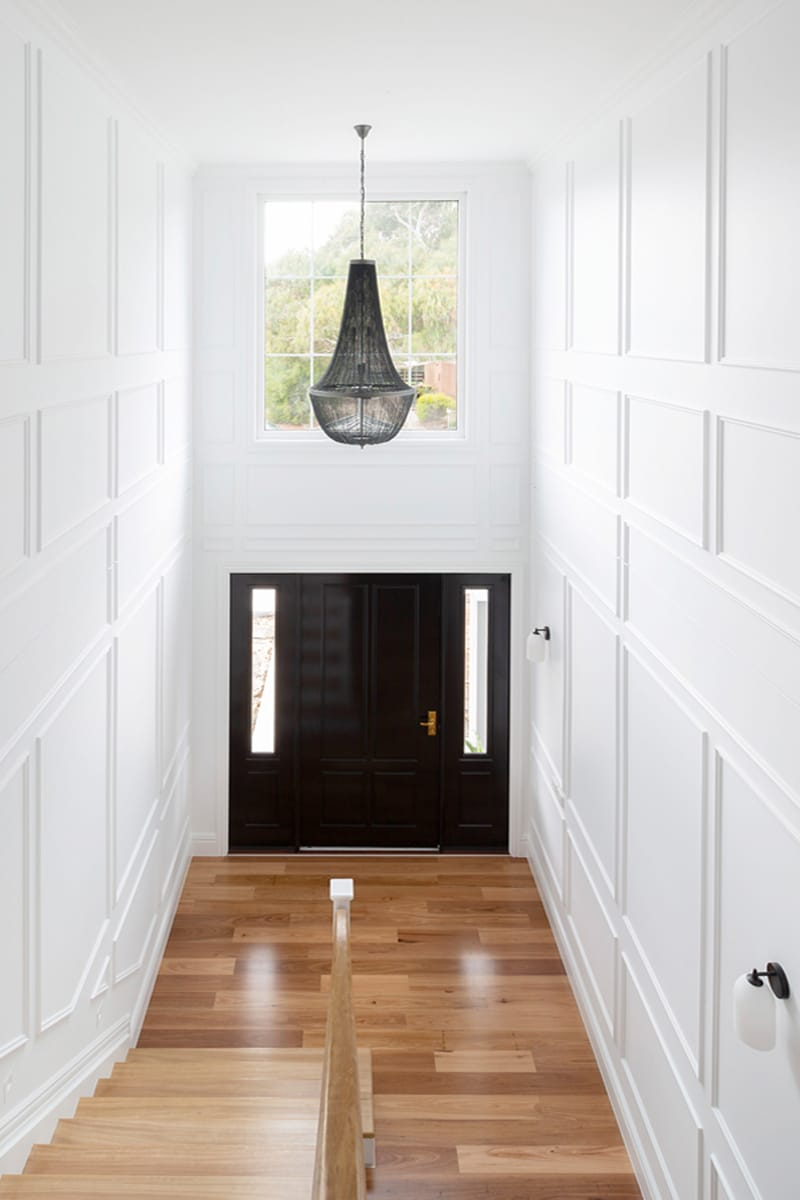 Interior design by Studio Black Interiors, Kaleen Residence Canberra, Australia.
