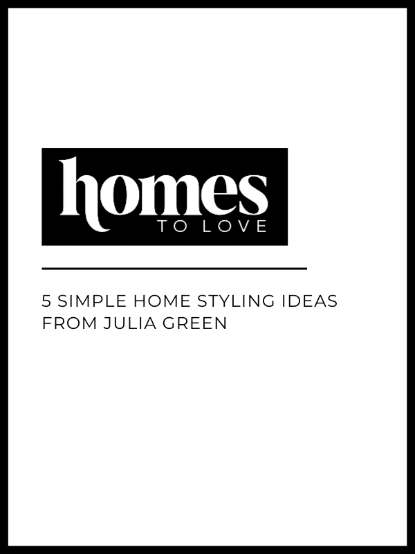 Studio Black Interiors featured in Homes to Love