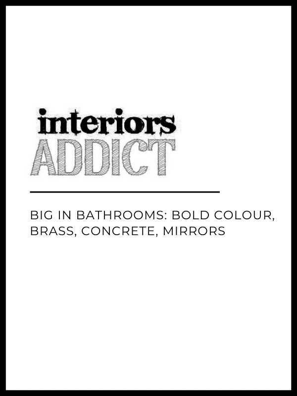 Studio Black Interiors featured in Interiors Addict