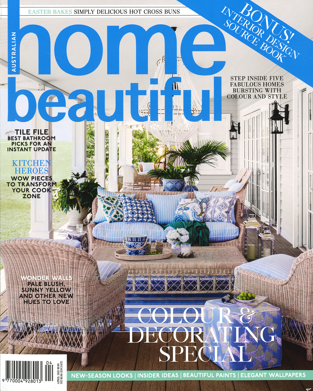 Studio Black Interiors is proudly featured in the April 2021 edition of Home Beautiful Magazine