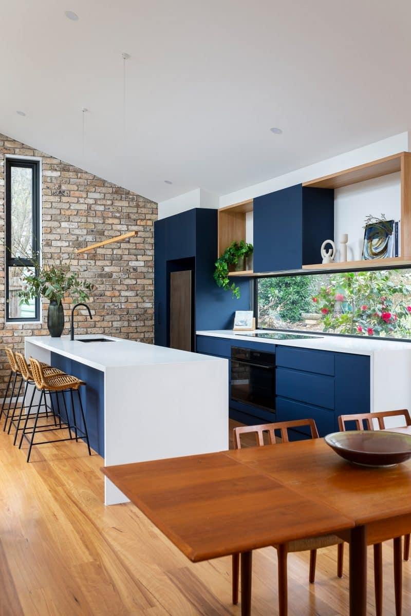 Interior design by Studio Black Interiors, Aranda Residence, Canberra, Australia.