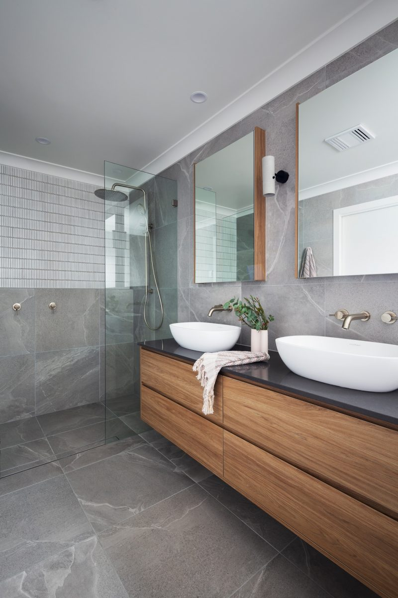 Interior design and styling by Studio Black Interiors, Forde Residence, Canberra, Australia.